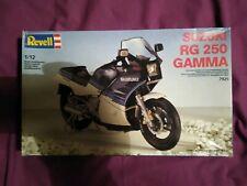 Suzuki RG250 Gamma MK1 Revell 1:12 Plastic Model Kit - Unfinished Build