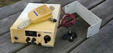 Vintage Unimetrics Sea Hawk 50 Radio w Unimetrics Mic 6000 and Mounting Bracket