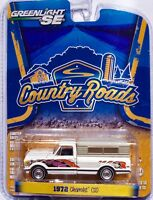 1972 Chevrolet C10 Pick-up Truck   weiss  /  Greenlight 1:64