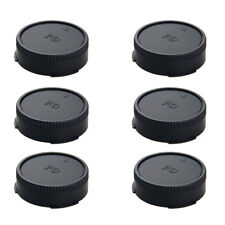 6 Pcs Rear Lens Cap Cover Back for Canon Replacement 55 300 70 200 50 35