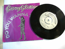 "GARY GLITTER""DO YOU WANNA TOUCH ME- disco 45 giri BELL UK 1973"""