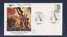 enveloppe 1er jour   Liberté  A  vert    1986