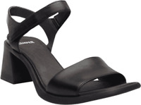 Women's Camper Karolina Sandal Black Leather