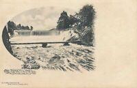 HAMBURG NJ - Paper Mill Dam on the Wallkill River - udb (pre 1908)