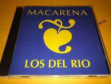 LOS DEL RIO #1 hit single THE MACARENA 4 track CD bola remix guerrillera 130 bpm