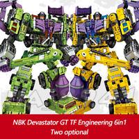 Construction Vehicles Engineering Truck Robot Combiner Devastator 6 in 1