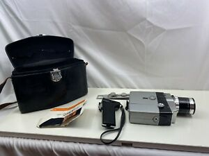 Yashica Super-8 30 Cine Camera With Manual case