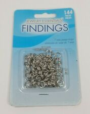 144 pieces Jump ring 7mm Jump Ring Jewelry Essentials Findings NEW