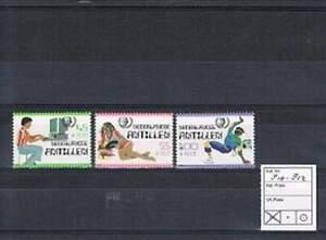 Ned. Antillen postfris 1985 MNH 810-812 - Cultuur