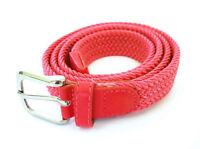 ds Cinta Cintura Donna Intrecciata Rossa 111 Glamour Fashion Alla Moda hac