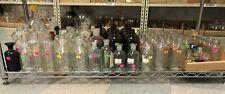 Lot Of Bottlesvials Chemistry Lab Glassware