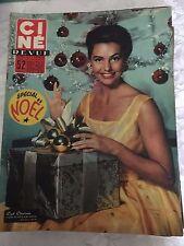 Ciné Revue N°49 du 7 décembre 1956 / Cyd Charisse - Pier Angeli