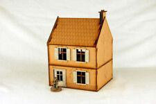 Segunda Guerra Mundial casa pequeña Europa – 9 28mm láser de corte de MDF edificio & terreno, N009