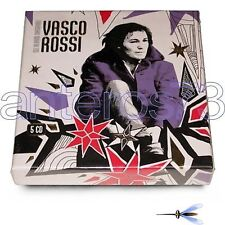 "VASCO ROSSI ""GLI ALBUM ORIGINALI"" RARO BOX 5 CD FUORI CATALOGO - SIGILLATO"
