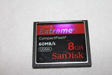 1pcs 8gb Sandisk Extreme Compactflash CF I memory card CF DSLR NIKON camera