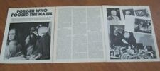 OUT OF THIS WORLD Han Van Meegeren original 3 pages PHOTOS + article