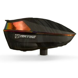Virtue Spire IV Electronic Paintball Loader / Hopper - Graphic Fire
