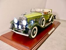 Danbury Mint 1930 Cadillac Roadster Diecast,1/12 Scale Model NIB