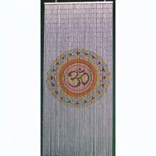 Bamboo Beaded Door Curtain - Mandala (also Room Divider Wall Art)