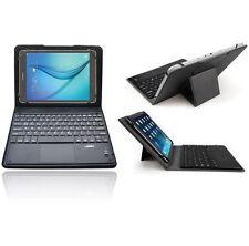 LEDELI clavier Bluetooth QWERTY allemand étui pour Samsung Galaxy Tab A 9.7 S2