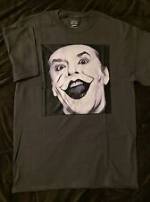 JOKER- Jack Nicholson, Tim Burton T-Shirt size MEDIUM (M) Mens Gray- Herb Ritts