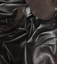 Lambskin Leather 2 OZ Nappa Garments Bags LARGE Dark Brown 8.5-9 SF