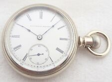 11 Jewel Pocket Watch Antique 18S Elgin Grade 88