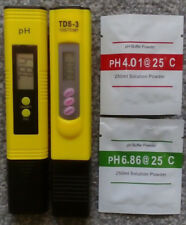 pH + ppm Water Testing Kit Hydroponics Grow Room