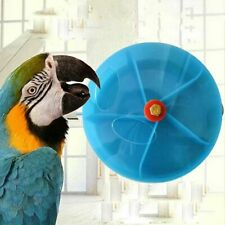Bird Foraging Toy Seed Food Ball Rotate Wheel for Small and Medium Parrots