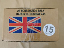 Menue #15 GB ARMY 24 Hour Combat Ration MRE EPA SURVIVAL Notration Verpflegung
