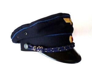 DDR Deutsche Reichsbahn Uniform - Schirmmütze 55 East German Railroad visor hat