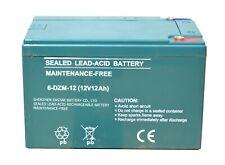 12 Volt 12 AH Akku 6-DZM-12 Elektro Scooter Battery Roller Batterie