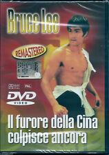 Il furore della Cina colpisce ancora (1972) DVD NUOVO Bruce Lee (The Big Boss)