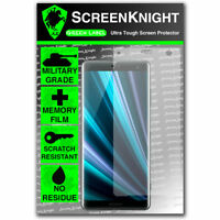 ScreenKnight Sony Xperia XZ3 SCREEN PROTECTOR - Military Shield