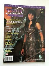 The Official Magazine #1 XENA WARRIOR PRINCESS TOPPS 1997 Lucy Lawless Excellent