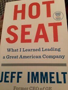 Jeff Immelt Hot Seat: Paperback ARC