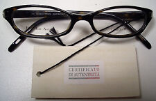 GIORGIO ARMANI EYEGLASSES PLASTIC FRAME 135 GA 463 086 BROWN MADE IN ITALY NEW