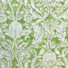 Prestigious Textiles Ophelia Apple Green Cotton Fabric per metre