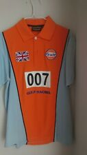 NEW Gulf Racing Polo Shirt Le Mans size M
