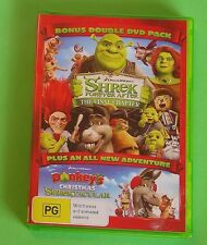 Shrek Forever After + Donkey's Christmas Shrektacular Dble DVD Pack D/Works 95