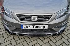 Alerón espada Front alerón ABS Seat Leon 5f Facelift FR Cupra Abe acción especial
