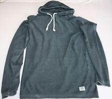 Jack & Jones Kapuzenpullover Sweatshirt mit Kapuze dunkelgrau Größe M