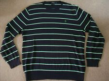 POLO RALPH LAUREN STRIPED THIN JUMPER (X LARGE)