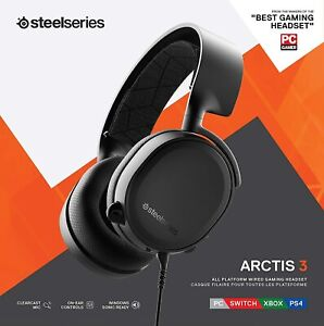 SteelSeries 61509 Arctis 3 Bluetooth 2019 Edition Wireless Stereo Gaming Headset