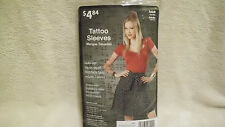 HALLOWEEN PROP Wardrobe Tattoo Sleeves Arm Stockings Appear Covered Cool Costume