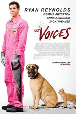 The Voices - original movie poster  D/S 27x40 Ryan Reynolds