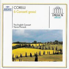CORELLI : 6 CONCERTI GROSSI OP. 6 - THE ENGLISH CONCERT, TREVOR PINNOCK / CD