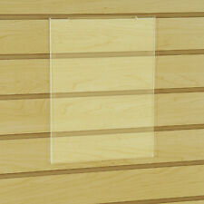 "Slatwall Gridwall Acrylic Sign Holder 8.5"" x 11"" Vertical - 10 Pieces"