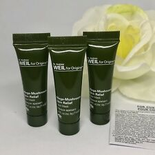 3 x Andrew Weil for Origins Mega Mushroom Skin Relief Face Mask 7ml/.24oz