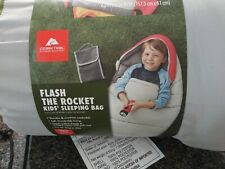 NEW Ozark Trail Flash The Rocket Kids' Sleeping Bag Camping Sleepover #30556